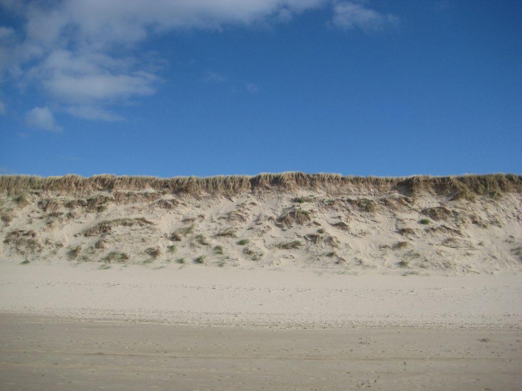 Waar de blanke top der duinen