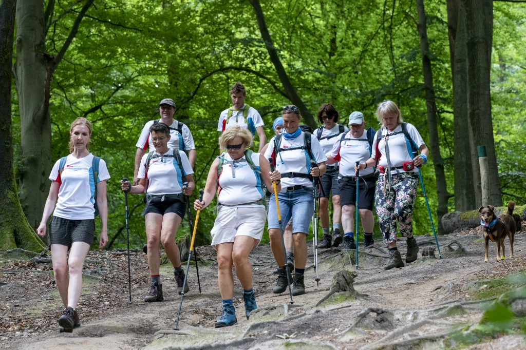 De 20 km horden lopen
